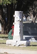 Image for B. C. Flowers -- Cedar Hill Cemetery -- Ozona TX
