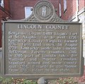 Image for Lincoln County