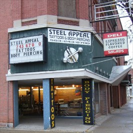steel appeal clinton ia tattoo shops parlors on