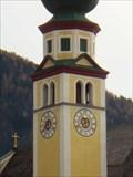 Image for Uhr Pfarrkirche Reith im Alpbachtal - Tyrol, Austria