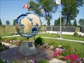 Image for Earth Globe, Veterans Park, Watertown, South Dakota