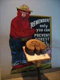 Image for Smokey Bear at Duluth Aquarium - Duluth, MN