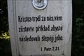 Image for Citat z bible - I.Petr. 2.21. - Prace, Czech Republic