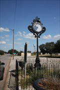 Image for Town Clock -- Flatonia TX