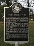 Image for Spring Creek County