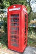 Image for Red Telephone Box - Stanmore Hill, London, UK