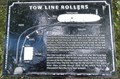 Image for Tow Line Rollers On The Leeds Liverpool Canal - Salterforth, UK