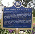 """Image for """"THE THOMSON SETTLEMENT""""  -  Scarborough"""