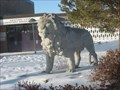Image for Lion at School, Rock Rapids, IA