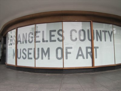 LA Cnty Museum of Art at Corner, Los Angeles