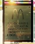Image for FIRST - McDonalds Restaurant in Germany, München, Munich, Bayern