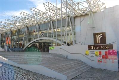 sete rios lisboa portugal train stations depots on. Black Bedroom Furniture Sets. Home Design Ideas