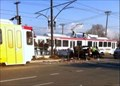 Image for TRAX train derailed after colliding with truck - Salt Lake City, Utah