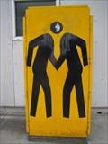 Image for Two Men with One Head Shaking Hands - Emeryville, CA