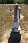 Image for FIRST Recorded Burial in Judson Cemetery - Cayuga, TX