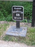 Image for Grand Union Canal side Mileage marker