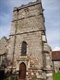 Image for Church of St John - Bell Tower - Spetisbury, Dorset, UK.