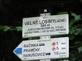 Image for Elevation Sign - Velke Losiny.394m