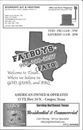 Image for Fatboys BBQ - Cooper, TX