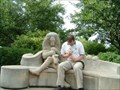 Image for A Saxophone Playing Lion and A Lute Playing Lion - University City, Missouri