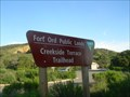 Image for Fort Ord Public Lands: Creekside Terrace Trailhead