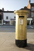 Image for Gold Post Box - Henley Rowers
