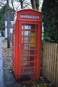 Image for Red Telephone Box - Eathorpe