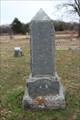 Image for J.U. Abram - Troy Cemetery - Troy, OK