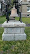 Image for Wyoming County Courthouse and Jail Bell ~ Pineville, West Virginia.