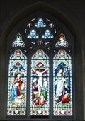 Image for Stained Glass, St Peter's Church, Holwell, Herts, UK