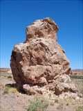 Image for Owl Rock - Route 66 - Laguna Pueblo, New Mexico, USA.