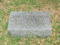 Image for John Peter Smith - Oakwood Cemetery - Fort Worth, TX