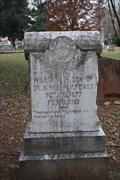 Image for William P. Fears -- Oak Grove Cemetery, Nacogdoches TX