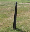 Image for Hitching post - Grove Cemetery, Trumansburg, NY