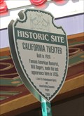 Image for LAST -- Performance by Will Rogers, California Theatre, San Bernardino CA