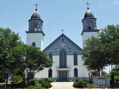Church of the Visitation - Westphalia, TX - Roman Catholic