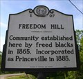 Image for Freedom Hill, Marker E-97