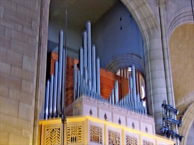Cathedral of St  John the Evangelist Organ - Spokane, WA