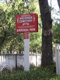 Image for Hacienda Cemetery, New Almaden - San Jose, California