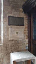 Image for Emily Cecilia Chaplin plaque - St Andrew - Whissendine, Rutland