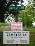 Image for Matheny Cemetery - Land Between the Lakes, KY