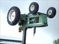 Image for Inverted and Elevated John Deere Tractor - Nampa, ID