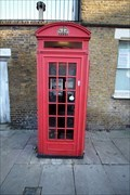 Image for Red Telephone Box - Whitworth Street, Greenwich, London, UK