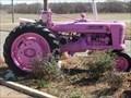 Image for Pink Farmall Model H - Emond, Oklahoma USA