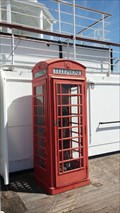Image for Red Telephone Box (1 of 2) on M Deck of Queen Mary - Long Beach, CA