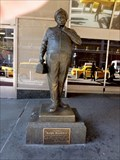 Image for Jackie Gleason as Ralph Kramden - Meanwhile, at 328 Chauncey Street - NY, NY