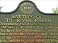 Image for Battles of the River Raisin - Monroe, Michigan, USA.
