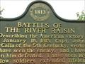 Image for Battles of the River Raisin - Monroe, Michigan, USA.