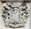 Image for West Ham Coat-of-Arms - Public Library, Barking Road, London, UK