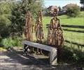 Image for Cycle Route Portrait Bench - Castleton, UK